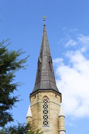 Detail of St Mary Catholic Church in Mudge, Australia