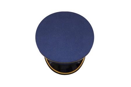 Police hat isolated on the white background