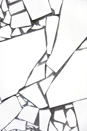 Closeup detail view at the mosaic background Foto de archivo - 96534429