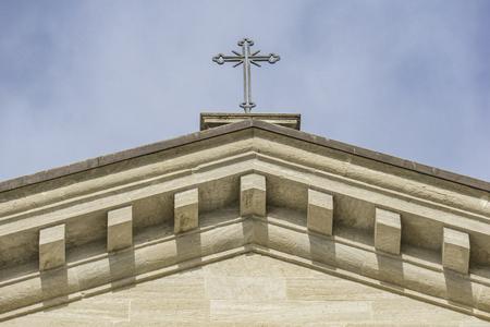 Detail of the Basilica di San Marino