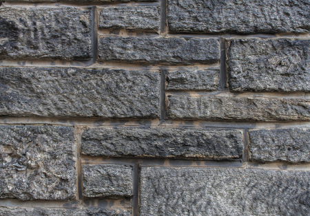 오래 된 빈티지 돌 담의 세부 사항 스톡 콘텐츠