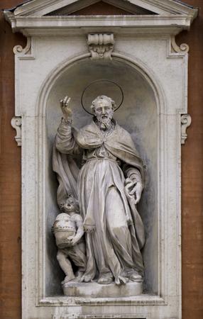 Detail from Chiesa di San Giorgio in Modena, Italy