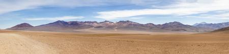 Dali desert at Eduardo Avaroa Andean Fauna National Reserve in Bolivia