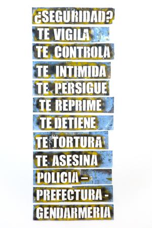 アルゼンチン、ブエノスアイレスの記念公園からの詳細。