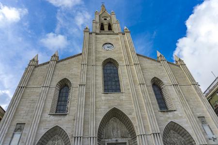 제노바, 이탈리아에서 산 테오 도로 교회에서보기 스톡 콘텐츠 - 98380170
