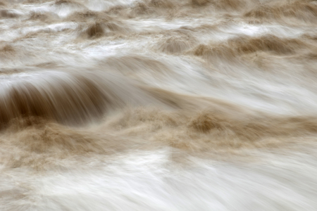 Detail of the Urubamba river in Peru