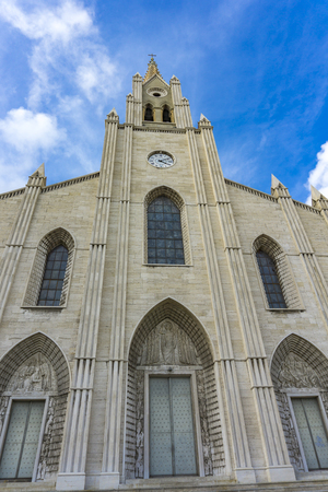 View at San Teodoro church in Genoa, Italy