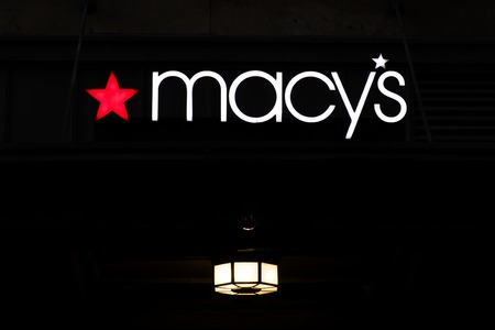 NEW YORK, USA - AUGUST 31, 2017: Detail o Macys store in New York. It is American department store chain founded at 1858. Stock Photo - 98811398
