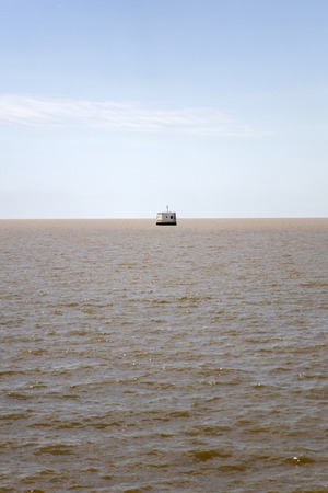 Atlantic ocean view afrom Buenos Aires, Argentina Banco de Imagens