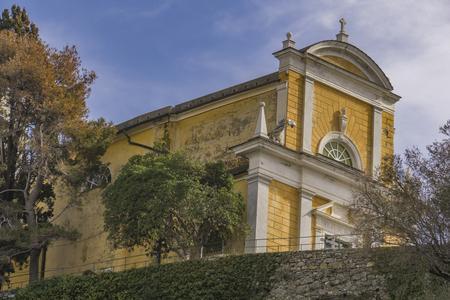 포르토 피노, 이탈리아에서 산 조르지오 교회에서보기
