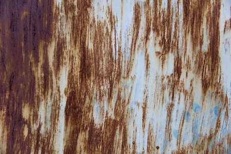 Close up view at rusty metal texture background