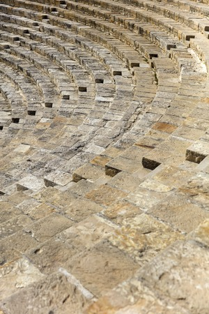 Detail of the ancient Curium amphitheatre in Kourion, Cyprus Reklamní fotografie