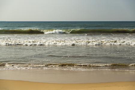 View at Matara beach, Sri Lanka