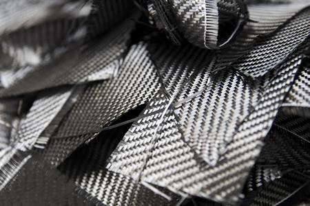 Closeup detail of the carbon fibers backdrop