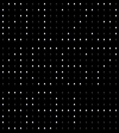 Closeup of the bright led light numbers Stock fotó - 101958238