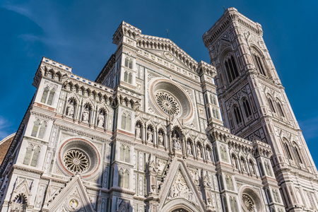 View at Santa Maria del Fiore catedral in Florence, Italy