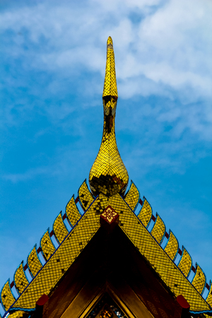 Detail from Grand Palace in Bangkok, Thailand