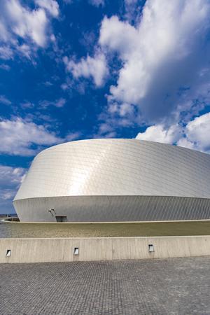 COPENHAGEN, DENMARK - JUNE 14, 2018: Detail of National Aquarium Denmark in Copenhagen. It is northern Europe largest and most modern aquarium, opened at 2013.