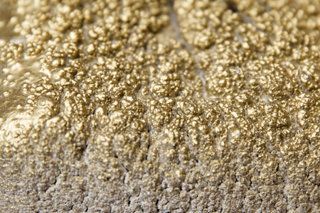 Closeup detail of the gold imitation texture