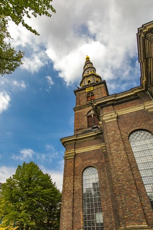 View at Church of Our Saviour from Copenhagen, Denmark