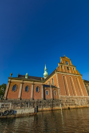 View at Church of Holmen in Copenhagen, Denmark