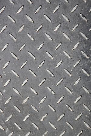 Closeup detail of the old metal pattern