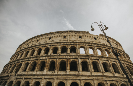 View at antique Colosseum in Rome, Italy Reklamní fotografie