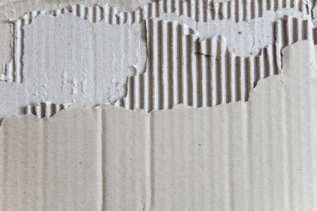 Closeup detail of the old cardboard texture background