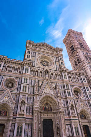 View at Florence Cathedral (Cattedrale di Santa Maria del Fiore) in Italy