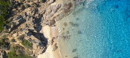 Aerial view at Nea Roda at Chalkidiki, Greece