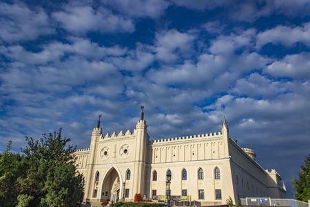 View at Lublin Royal Castle in Poland