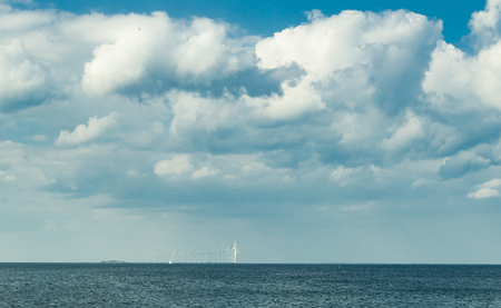 Baltic sea horizon by day Stock Photo - 109085964
