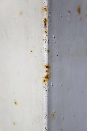 Close up view at aged metal texture