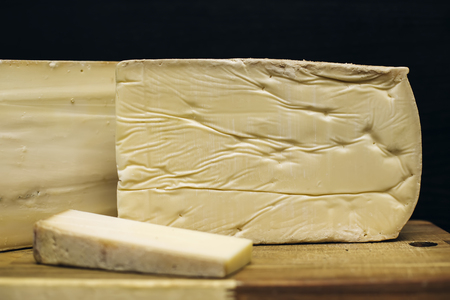 Traditional Auvergne cheese from France Stock Photo