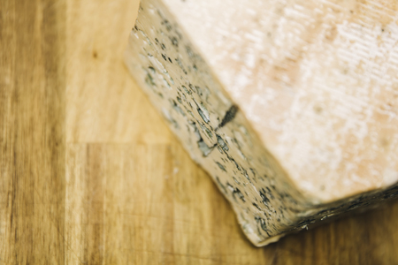 Traditional Auvergne blue cheese from France Stok Fotoğraf