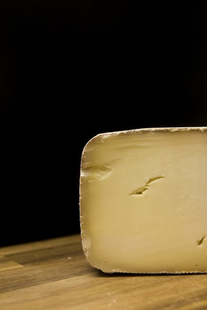 Traditional Auvergne cheese from France  on table