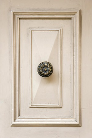 Detail of traditional front door from building on Malta Stok Fotoğraf