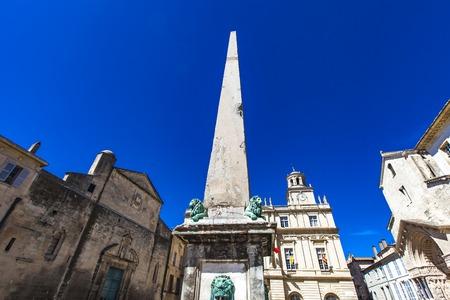 4th-century Roman obelisk in Arles, France