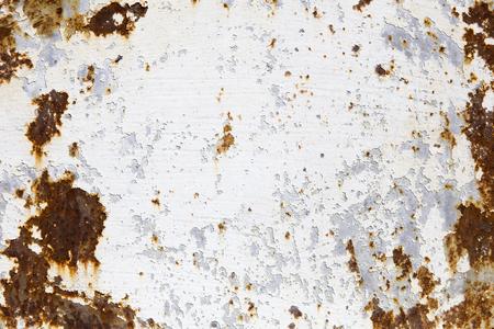 Detalle del abstracto fondo de metal oxidado colorido corroído Foto de archivo