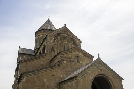 Svetitskhoveli Eastern Orthodox Cathedral in Mtskheta, Georgia