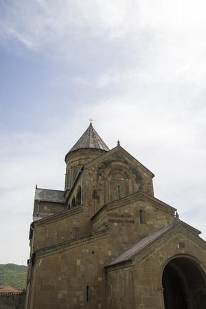 Svetitskhoveli Eastern Orthodox Cathedral in Mtskheta, Georgia