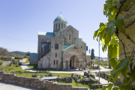 View at Bagrati Cathedral in the city of Kutaisi, Georgia Banque d'images - 124399572