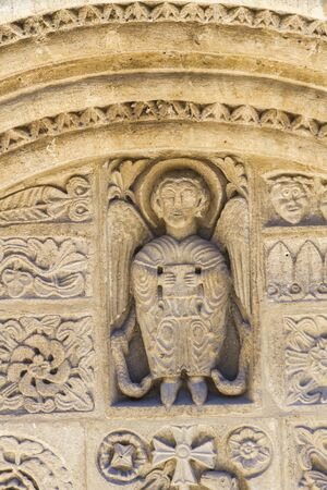 Detail from Eglise Saint Michel in Salon-de-Provence, France