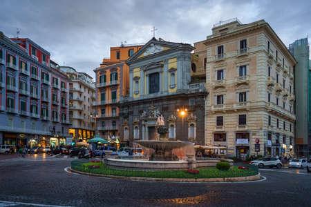 Fontana del Carciofo located on Piazza Trieste E Trento