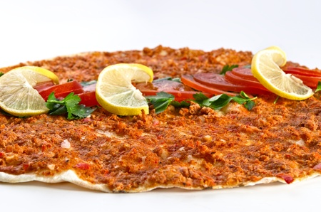 Lahmacun - Turkish pizza photo