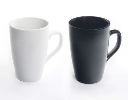 mug of coffee: Dark and light ceramic cups for every color you need