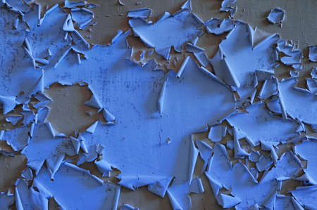 worn structure: Old vintage wall background with flaky paint  Stock Photo