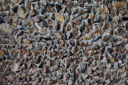 Horizontal texture background with old stone wall Stock Photo - 12856696