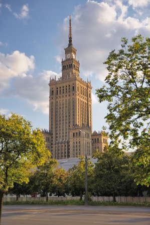 palacio ruso: Palacio de la Cultura y las Ciencias, Varsovia, Polonia