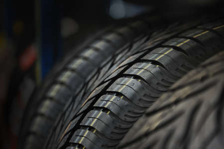 The tire tread  Conceptual background  photo